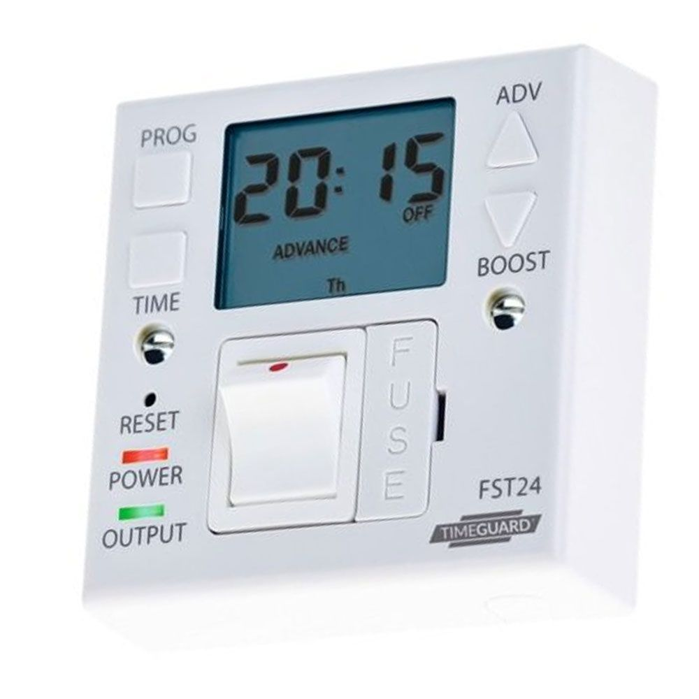 Timeguard Fst24 24 Hour Fused Timer Switch With Boost