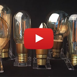 Vintage LED Filament Light Bulbs