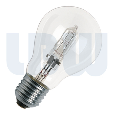 Halogen Light Bulb 28w Screw Cap Clear