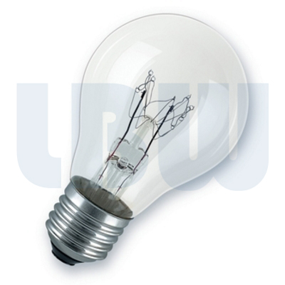 Light Bulb 60w Screw Cap Clear