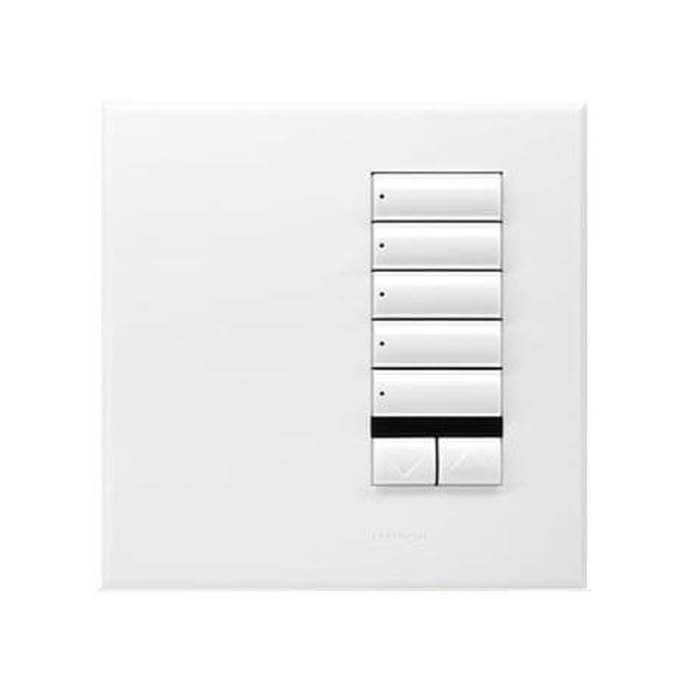 Lutron Grafik Eye Qs 5 Button Scene Keypad With Infrared