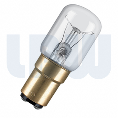 Appliance 15w Small Bayonet Cap Clear