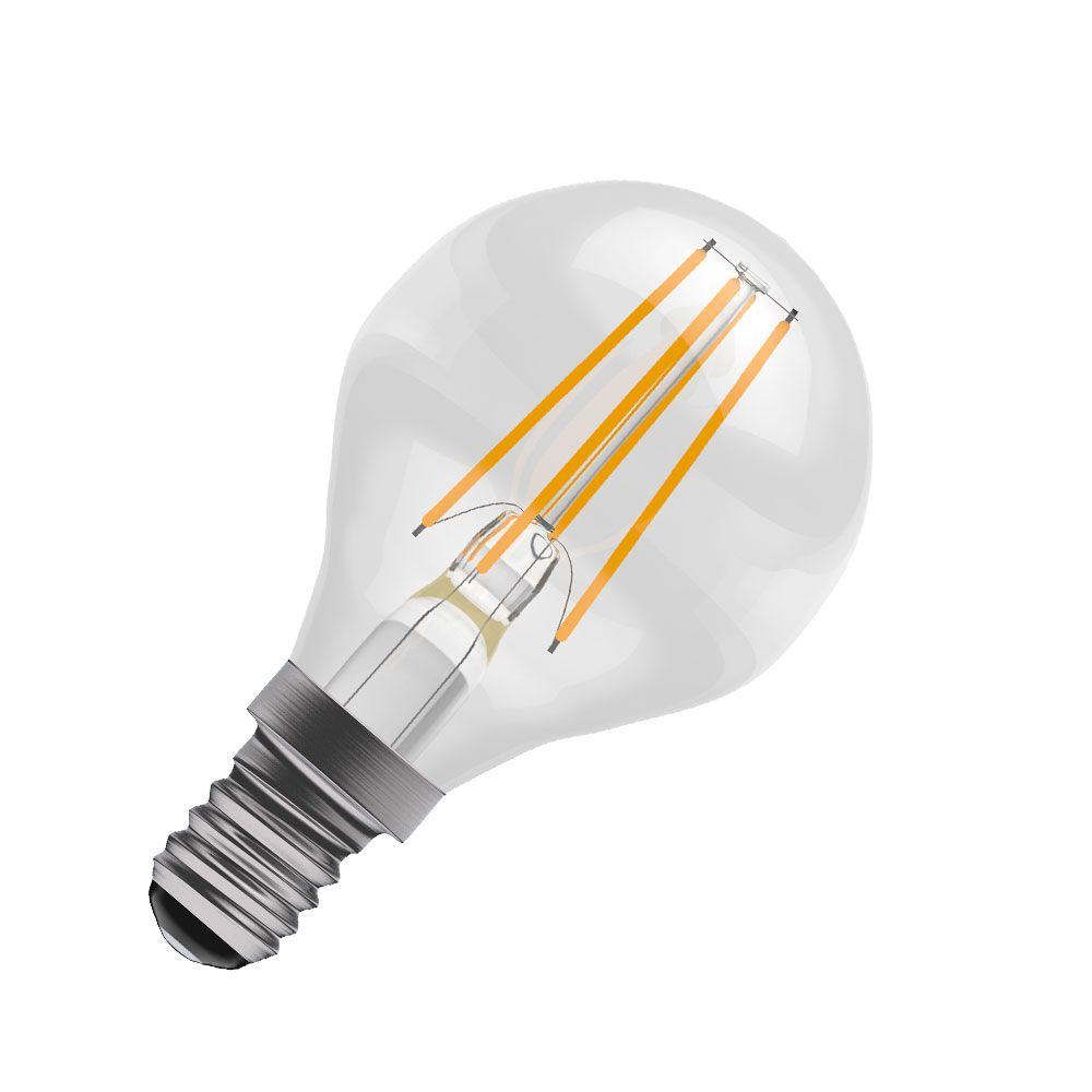 Bell 05032 Led Round Filament Bulb 4w Non Dimmable Es E27 Fluorescent Lamp Driver