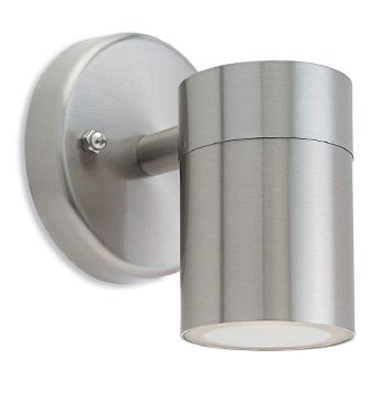 Brushed Steel Wall Lights