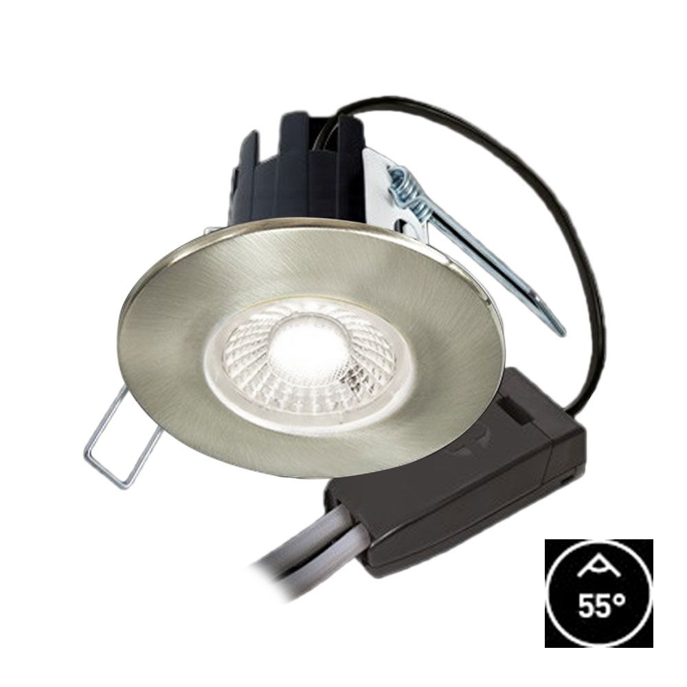 2 Watt 12 Volt Led Round Cabinet Light Fitting Kits Cool: Collingwood 4.4w H2 Lite 55° LED Dimmable Downlight Cool