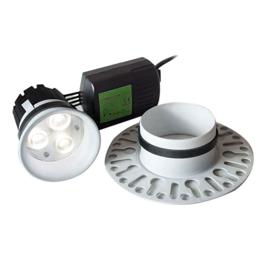 Collingwood H5 Trimless Plaster In Led Downlight Dl282whnwdim