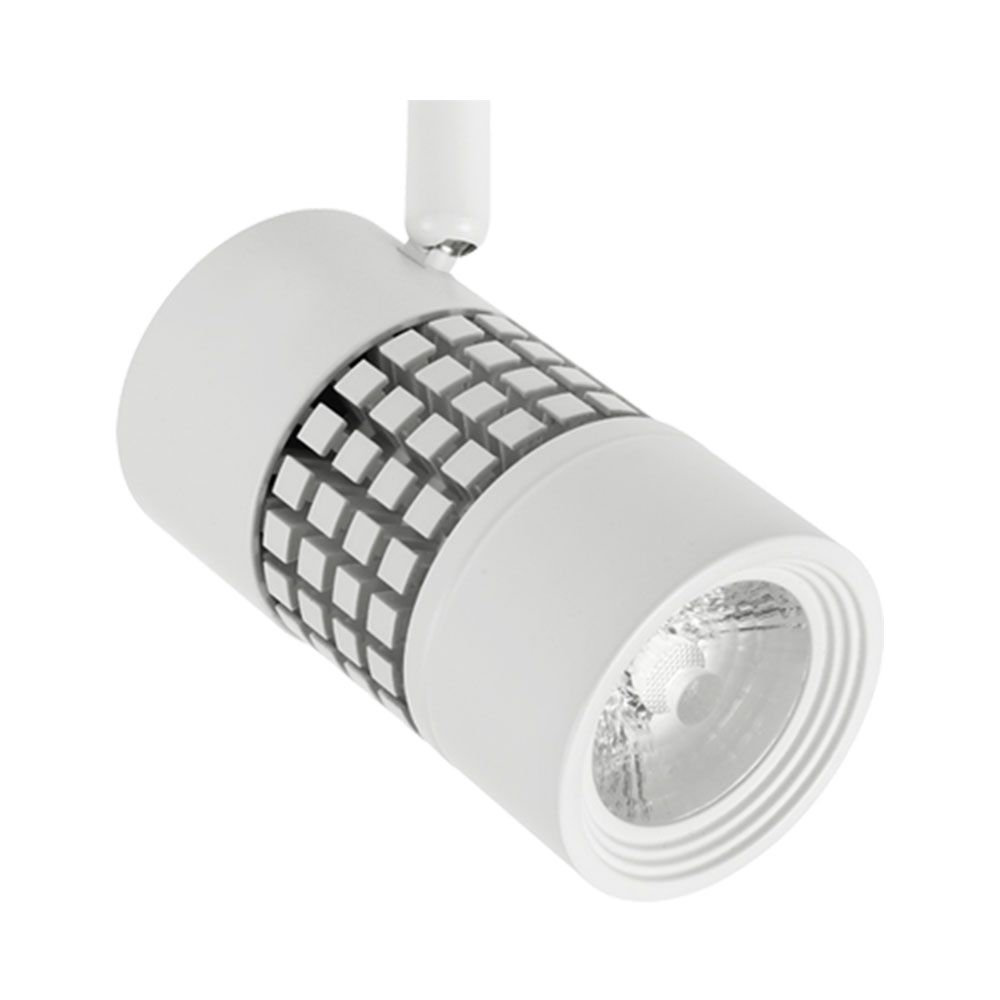 illuma gridspot led white t321238 wh sdl 830 spotlight 15w 3000k 38