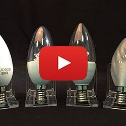 LED Candle Bulbs Video