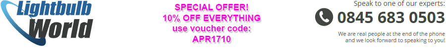 Light Bulb World Voucher Code