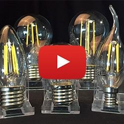 Bell LED Filament Lamps Video