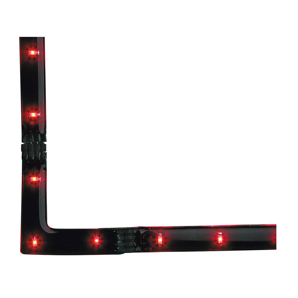 Firstlight 4207RE LED 90 Angle Strip Red LED